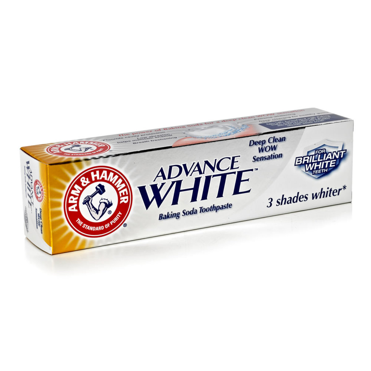 Using whitening toothpaste (especially one with baking soda) is a great natural way to whiten yellow nails.