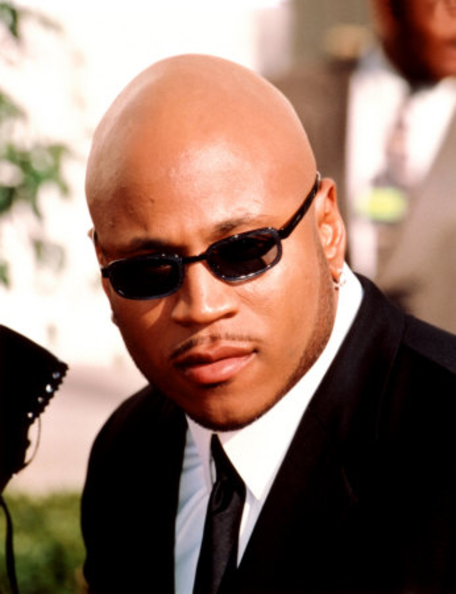 "Even being bald, ""Ladies Love Cool James"" (LL Cool J), has been a favorite to ladies everywhere."