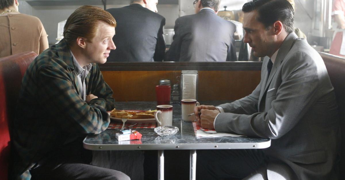 "Don Draper & Adam Whitman in ""5G"""
