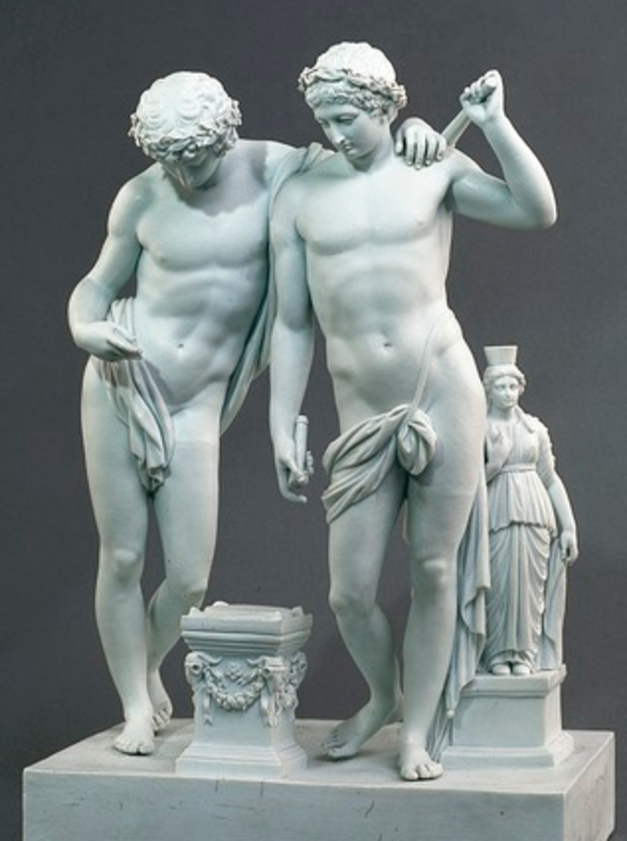 The Twins - Hypnos and Thanatos
