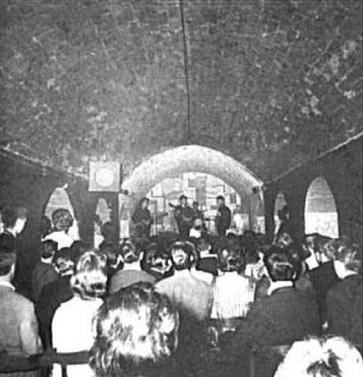 The Beatles in the Cavern 1961