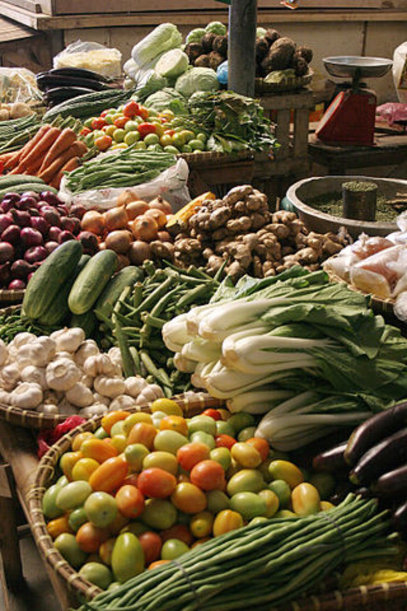 Farmers Markets are a great place to buy vegetables for canning.