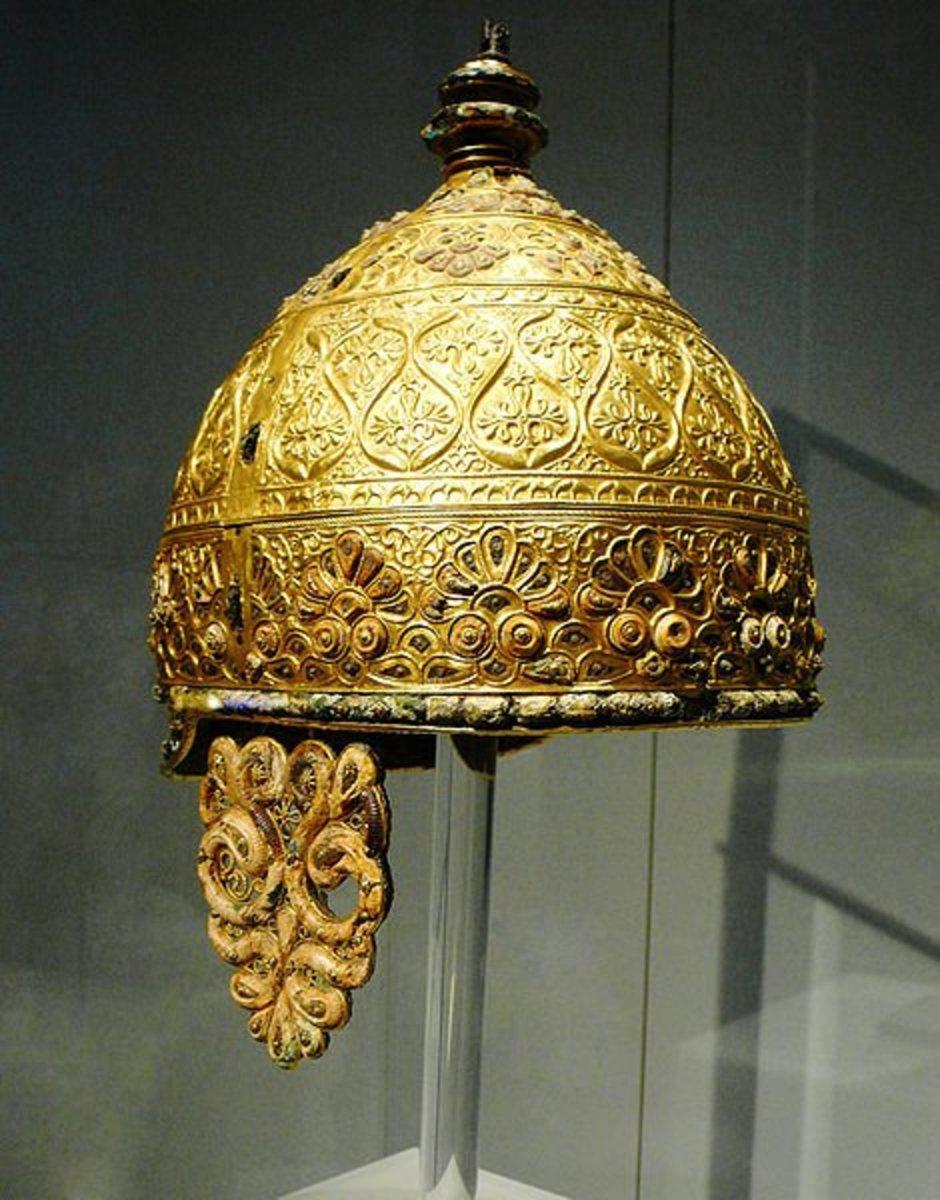 Celtic parade helmet. (England)