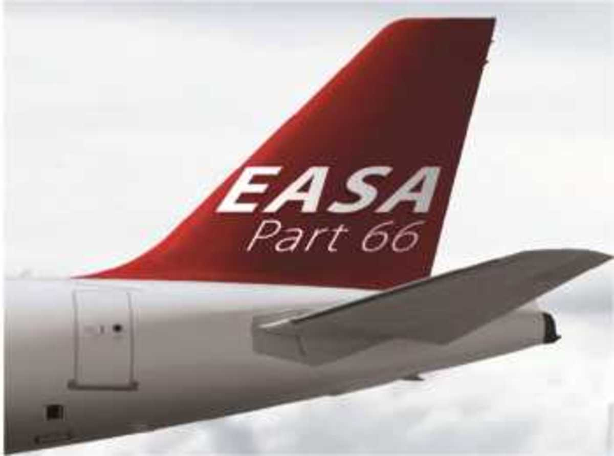 EASA Part 66 - The Pathway to Become Licensed  Aircraft Maintenance Engineer