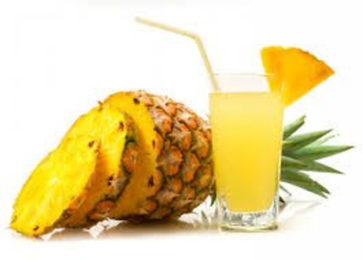 The Health Benefits Of Pineapple.