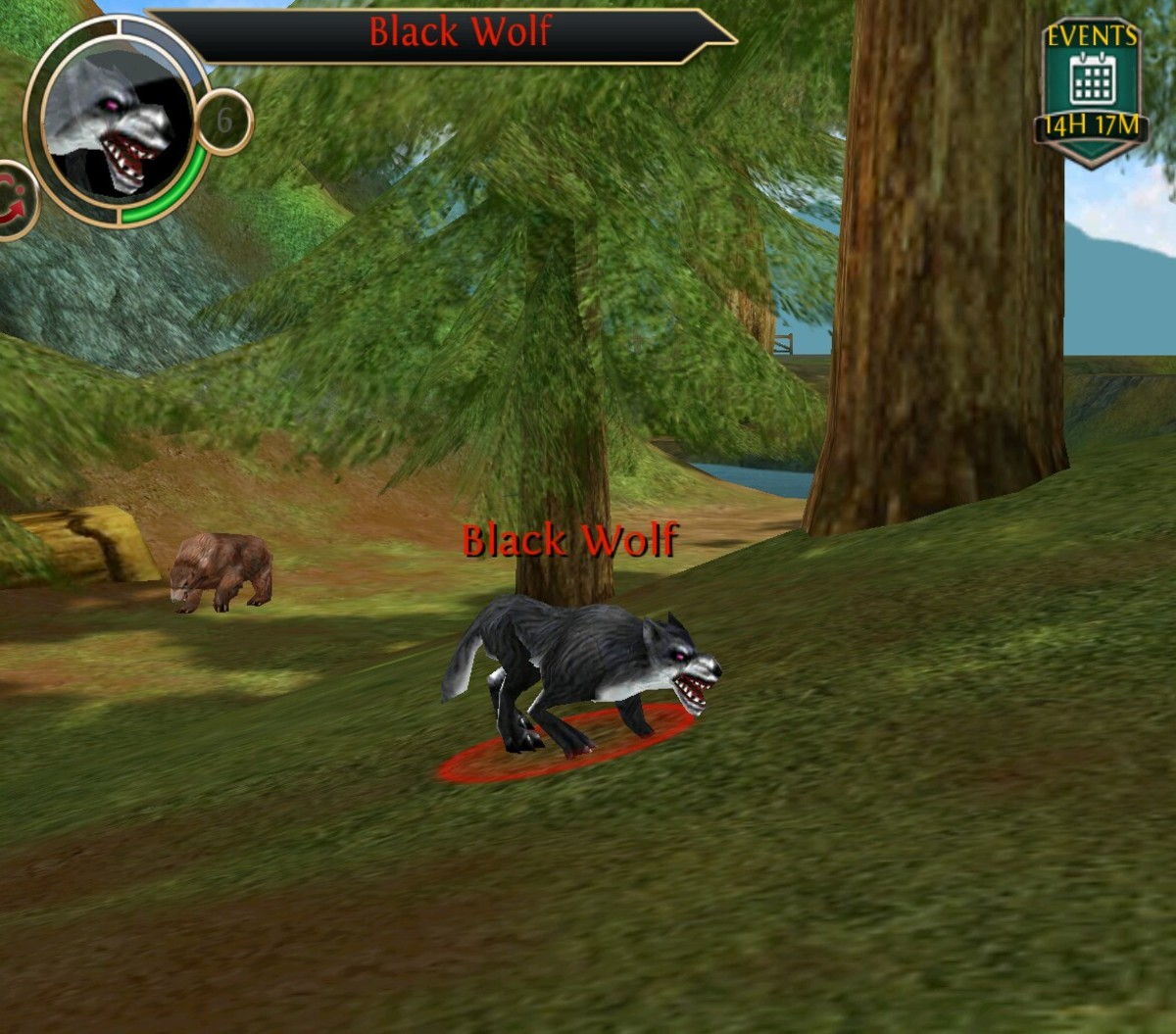 Poor fur also drops from wolves in Order and Chaos Online.