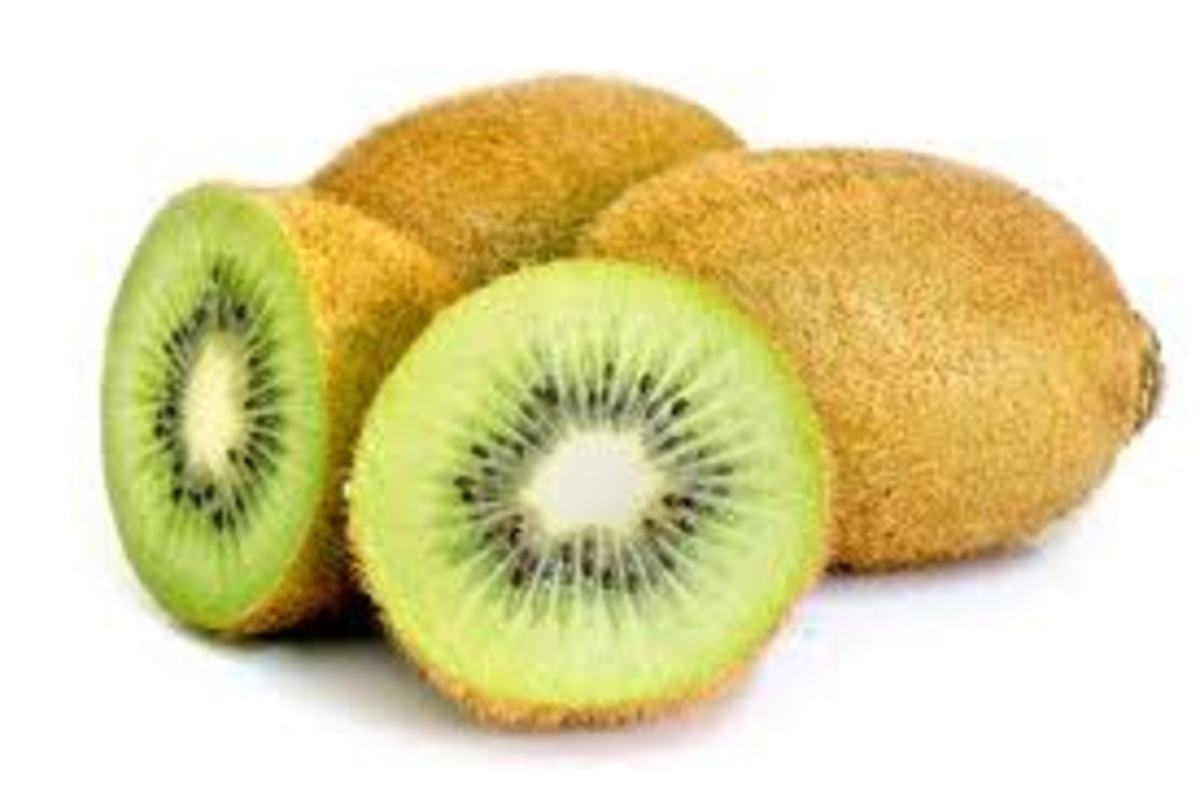 The health benefits of kiwi.