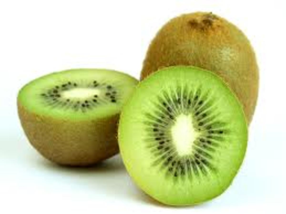 The health benefits of kiwi.