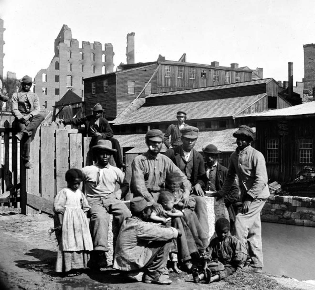 Emancipated Slaves_ Richmond Virginia_1865