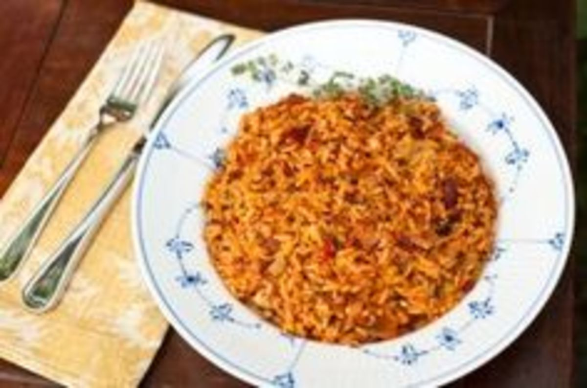 Savannah Red Rice - Just Like Grandmother Used to Make