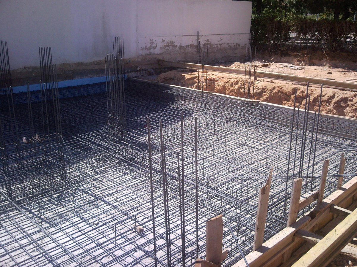 foundation slab