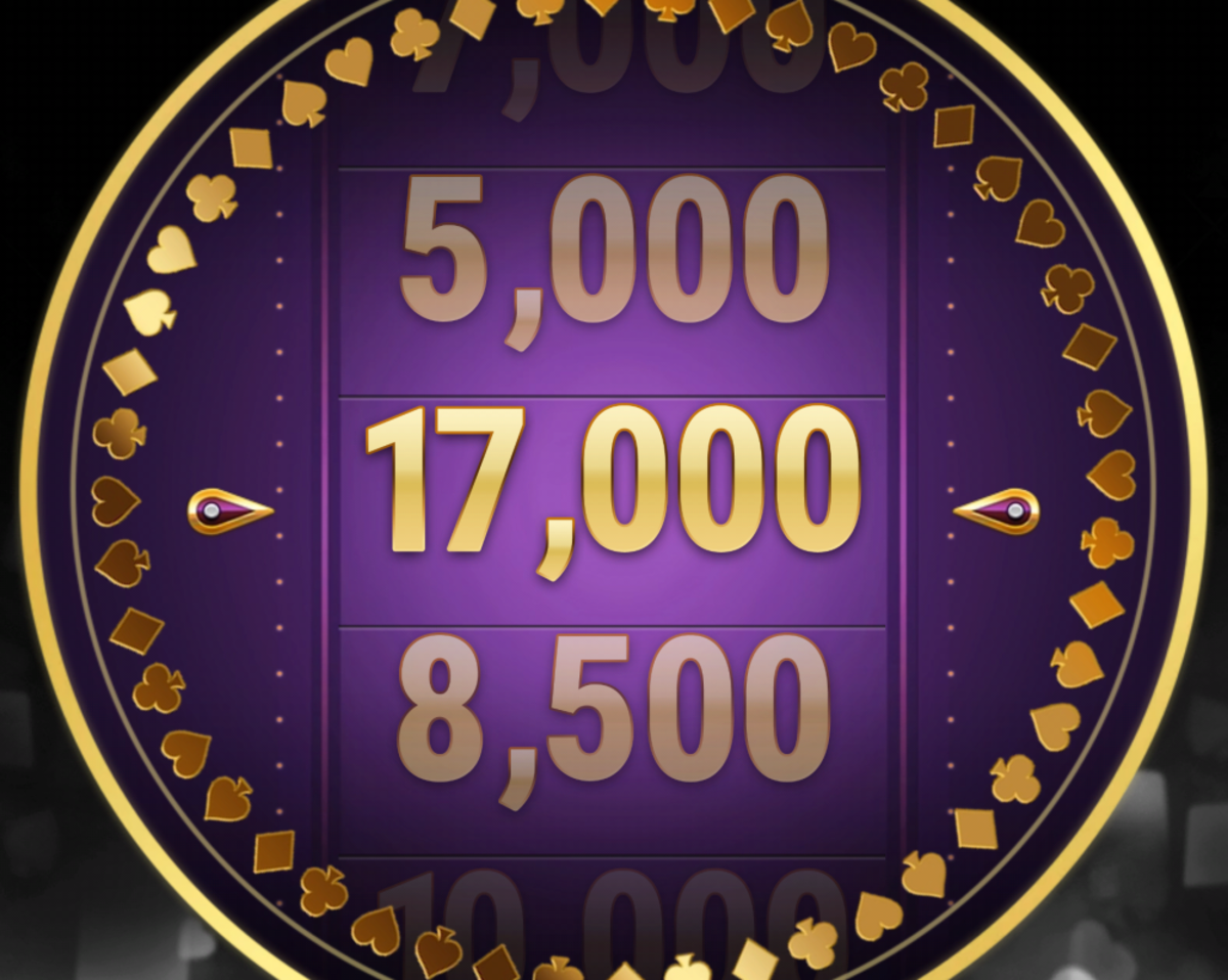This is a picture of the normal jackpot wheel.