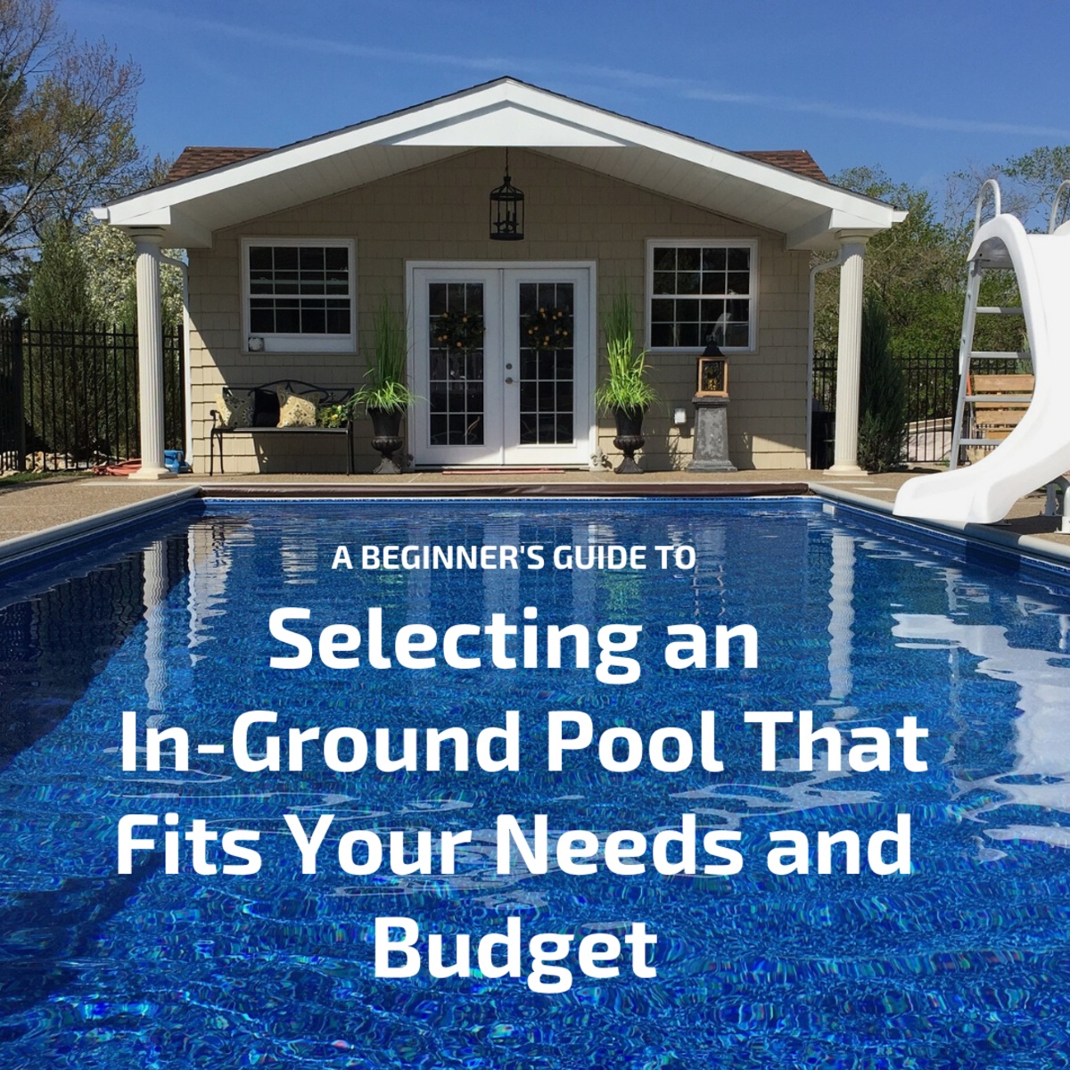 Thinking of installing an in-ground pool? Well, the first thing you need to do is determine what shape and size you are looking for and what your budget is.