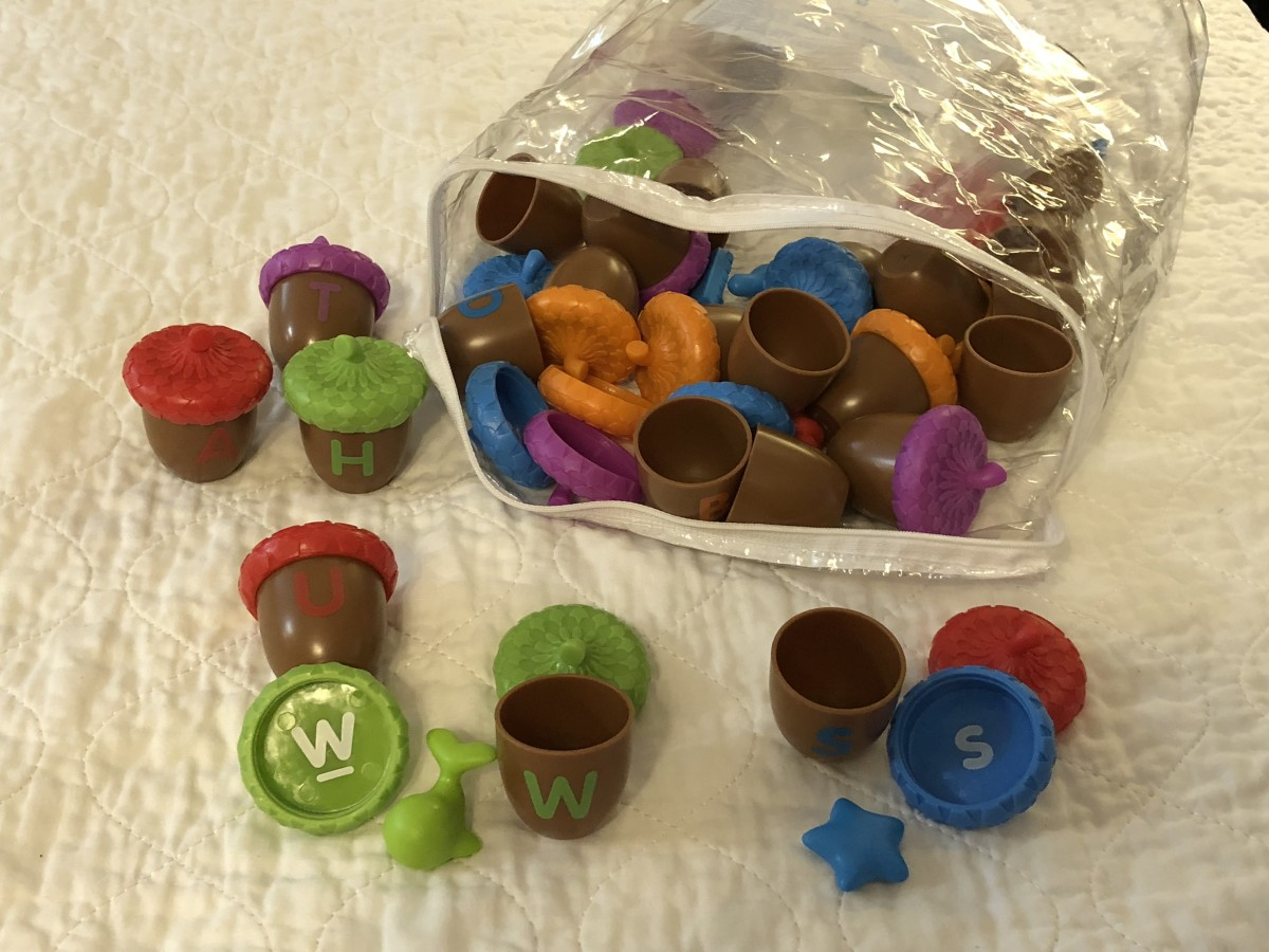 Learning Resources Alphabet Acorns