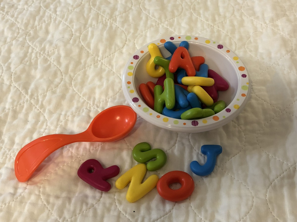 Learning Resources Bright Bites Alphabet Soup