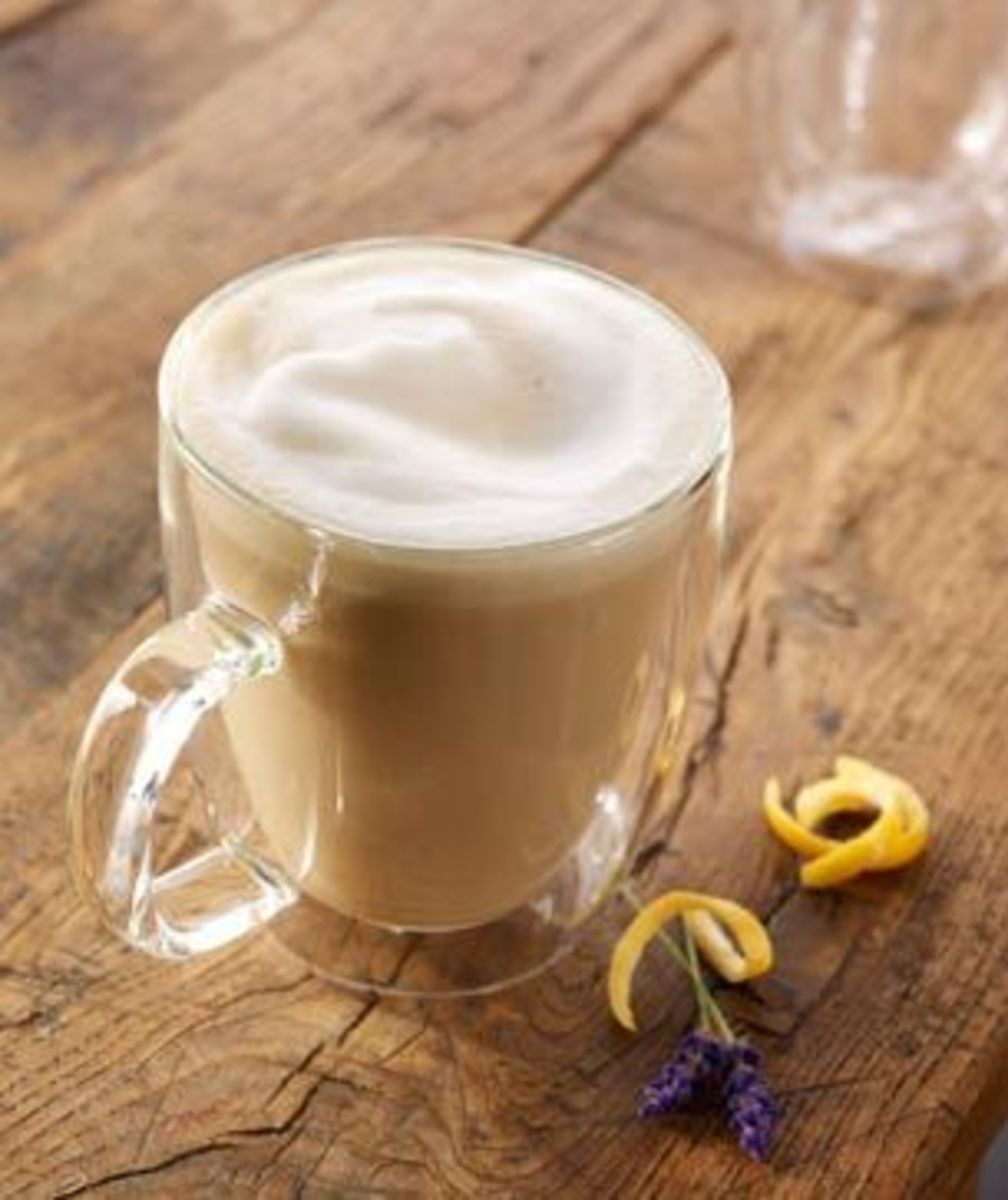 Earl Grey Tea Latte. A favorite variation on the standard recipe is using the vanilla soy instead of 2% milk.