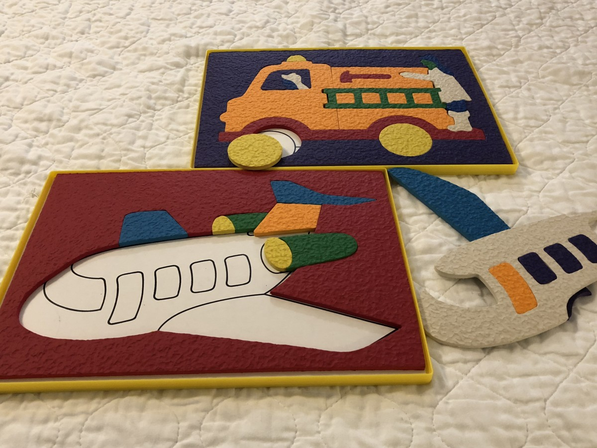 I've had several therapy clients, children with autism, who really loved these puzzles