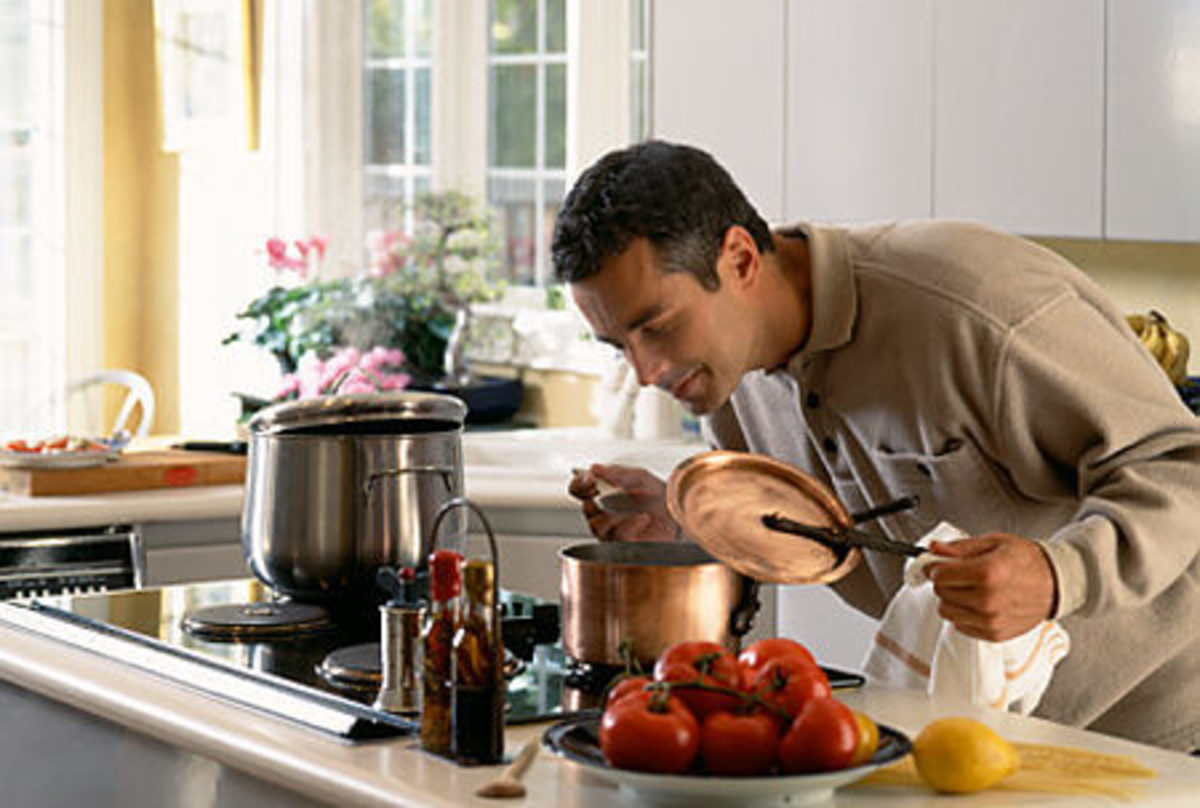 Men who can cook--a rare and sexy breed?
