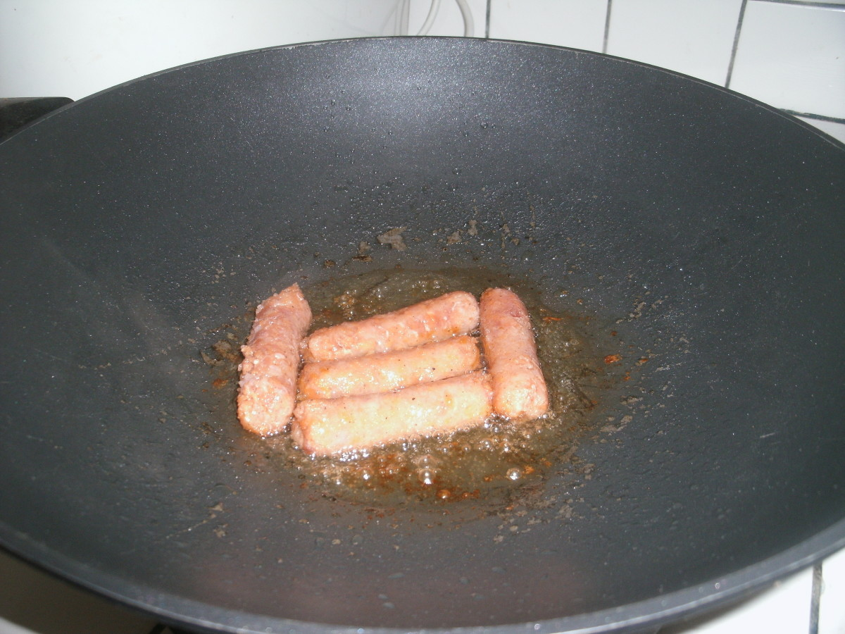 Fried Longganisa