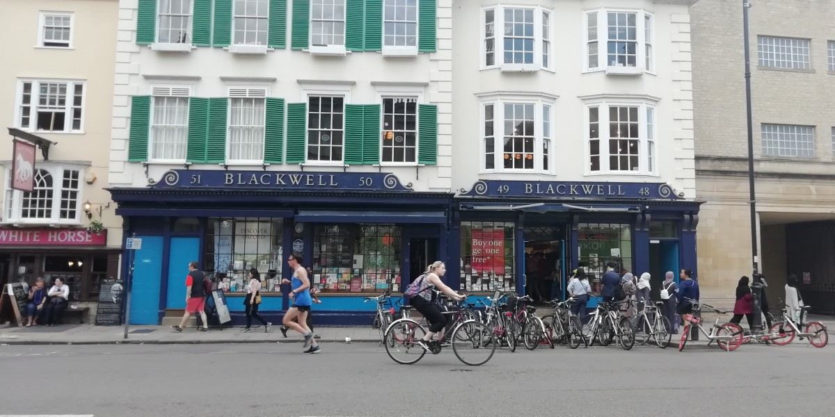 Blackwell's Bookshop, Oxford
