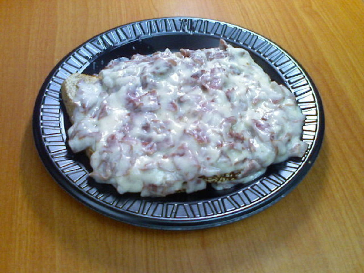 Poor Days Supper - Creamed Chipped Beef On Toast Recipe