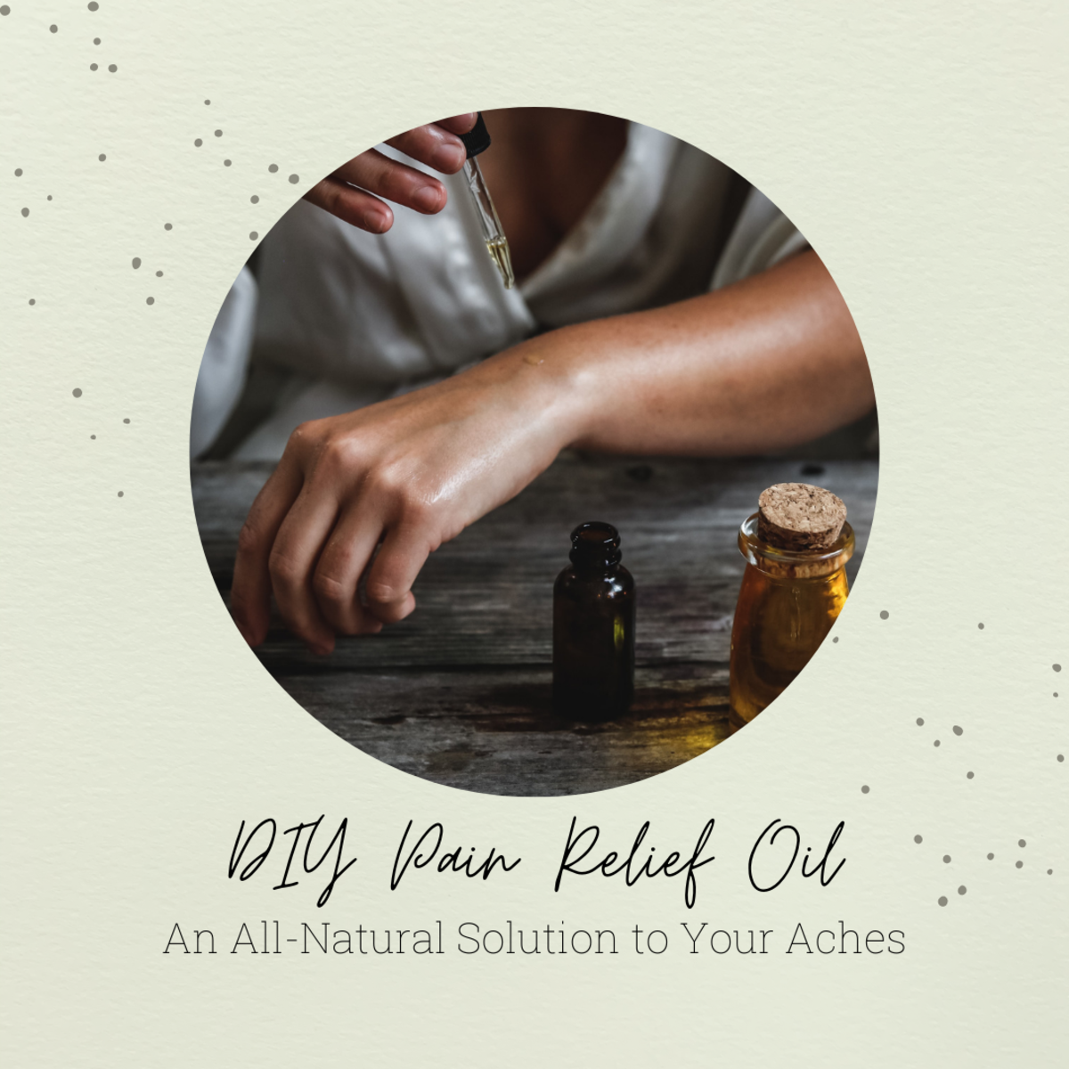 DIY Pain Relief Oil