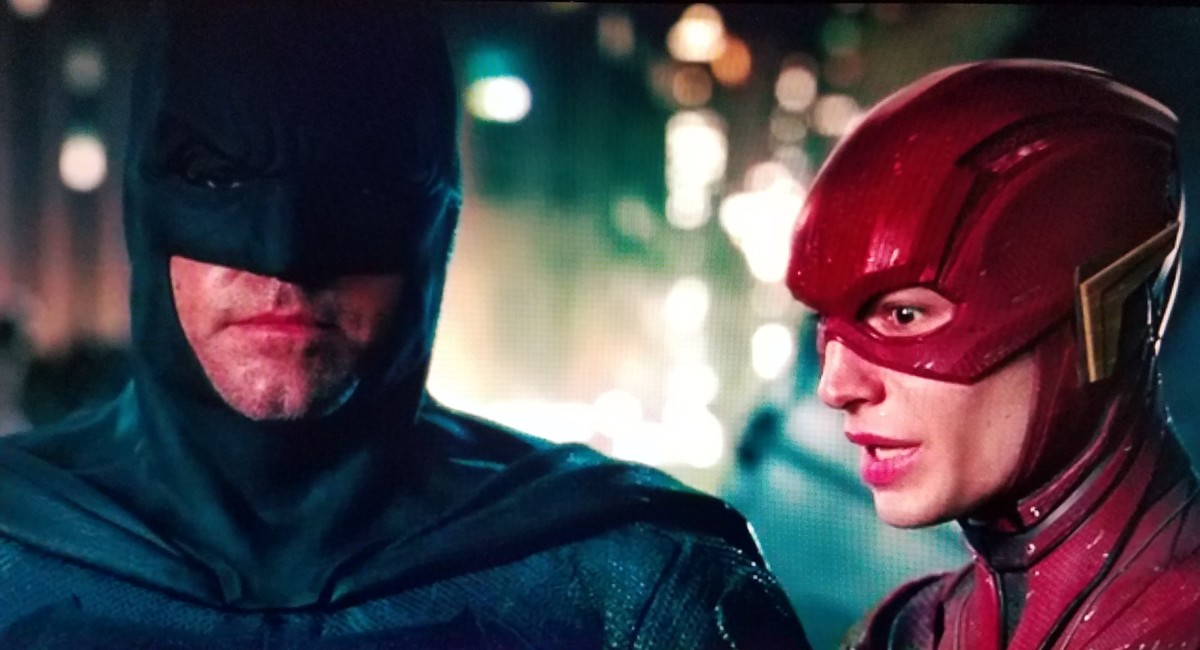 Please... No extra Flash scenes... Even Batman obviously can't stand him.
