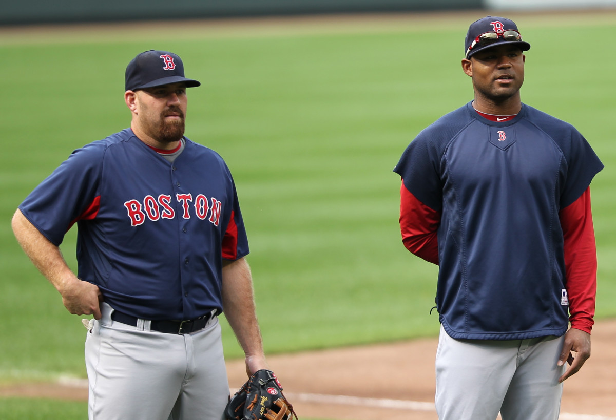 Kevin Youkilis and Carl Crawford
