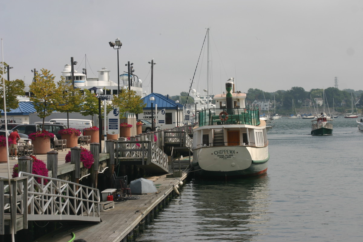 Maine, Traveling the Coast
