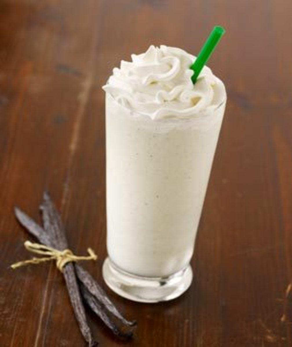 The Vanilla Bean Creme Frappuccino.