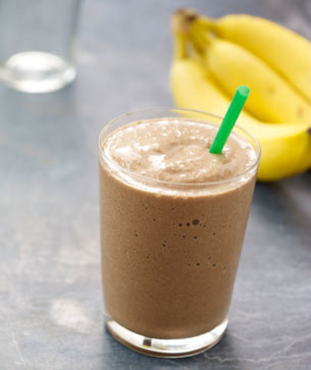 The Chocolate Smoothie unfortunately offers the least amount of Vitamins C & A, but it's still a very healthy choice off the menu.
