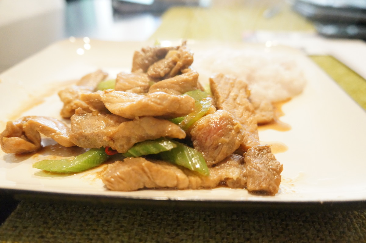 How to Make Easy Asian Pork With Celery Stir-Fry