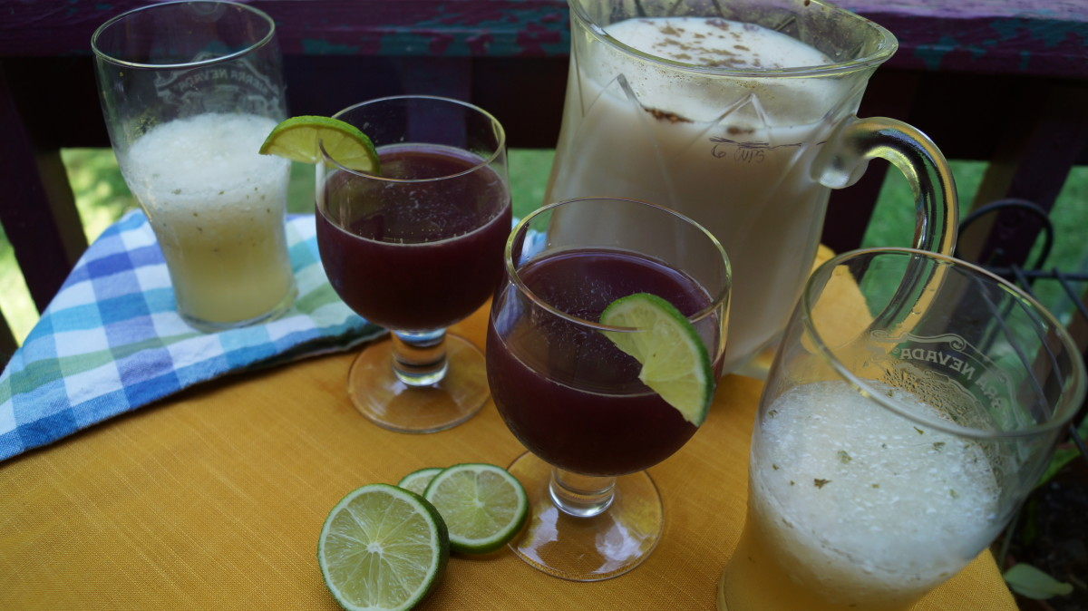 The mojitos are great on a hot day, as is the sangria and horchata.