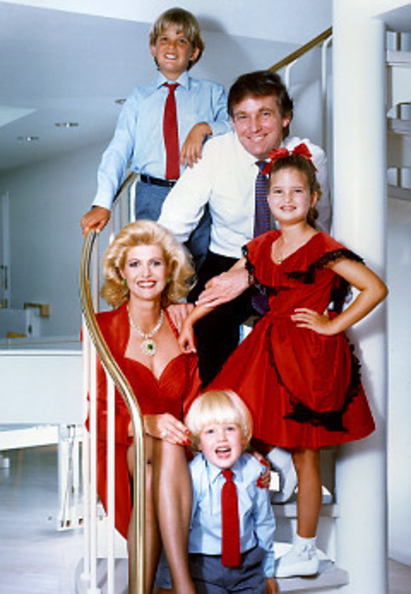 politics donald trump early years