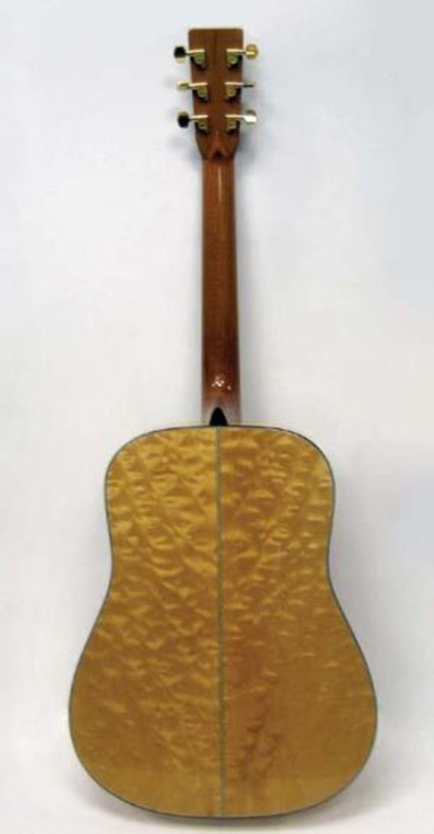 Top Five Maple Body Dreadnought Guitars for Serious Amateurs or ... : quilted maple acoustic guitar - Adamdwight.com
