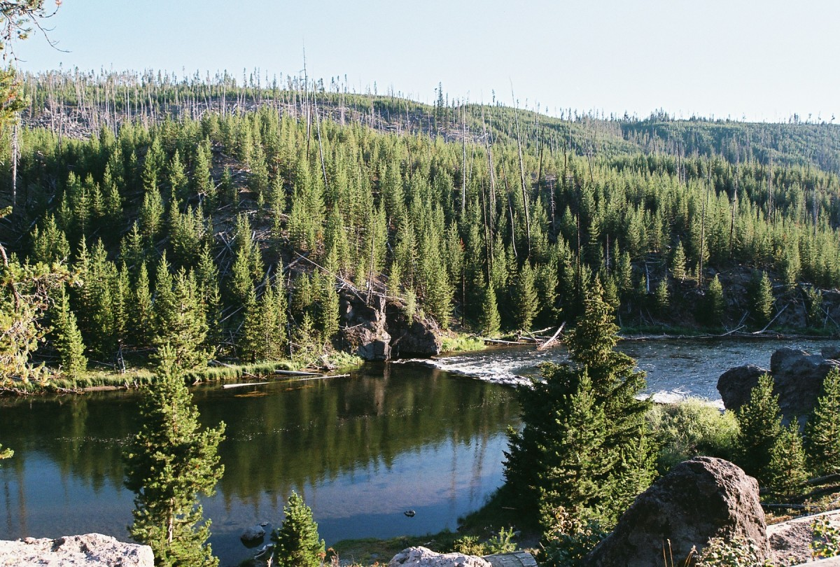 Swimming Area: Firehole Canyon Drive