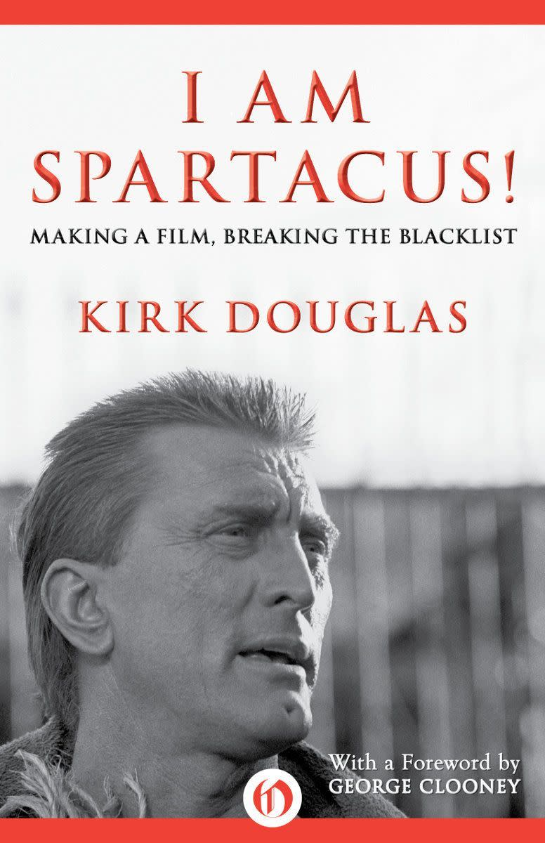 The newest recently released book by Kirk Douglas
