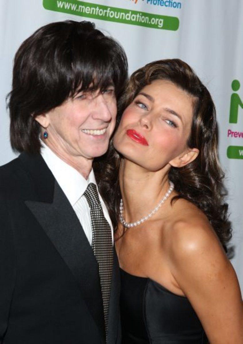 Ric Ocasek and wife Paulina Porizkova