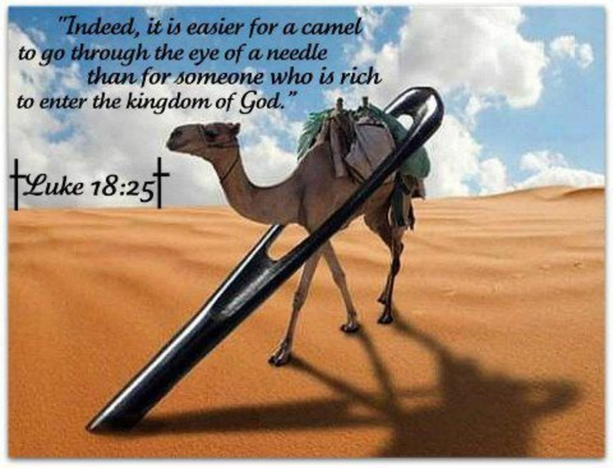 A Hymn: It Is Easier for A Camel to Go Through the Eye of a Needle