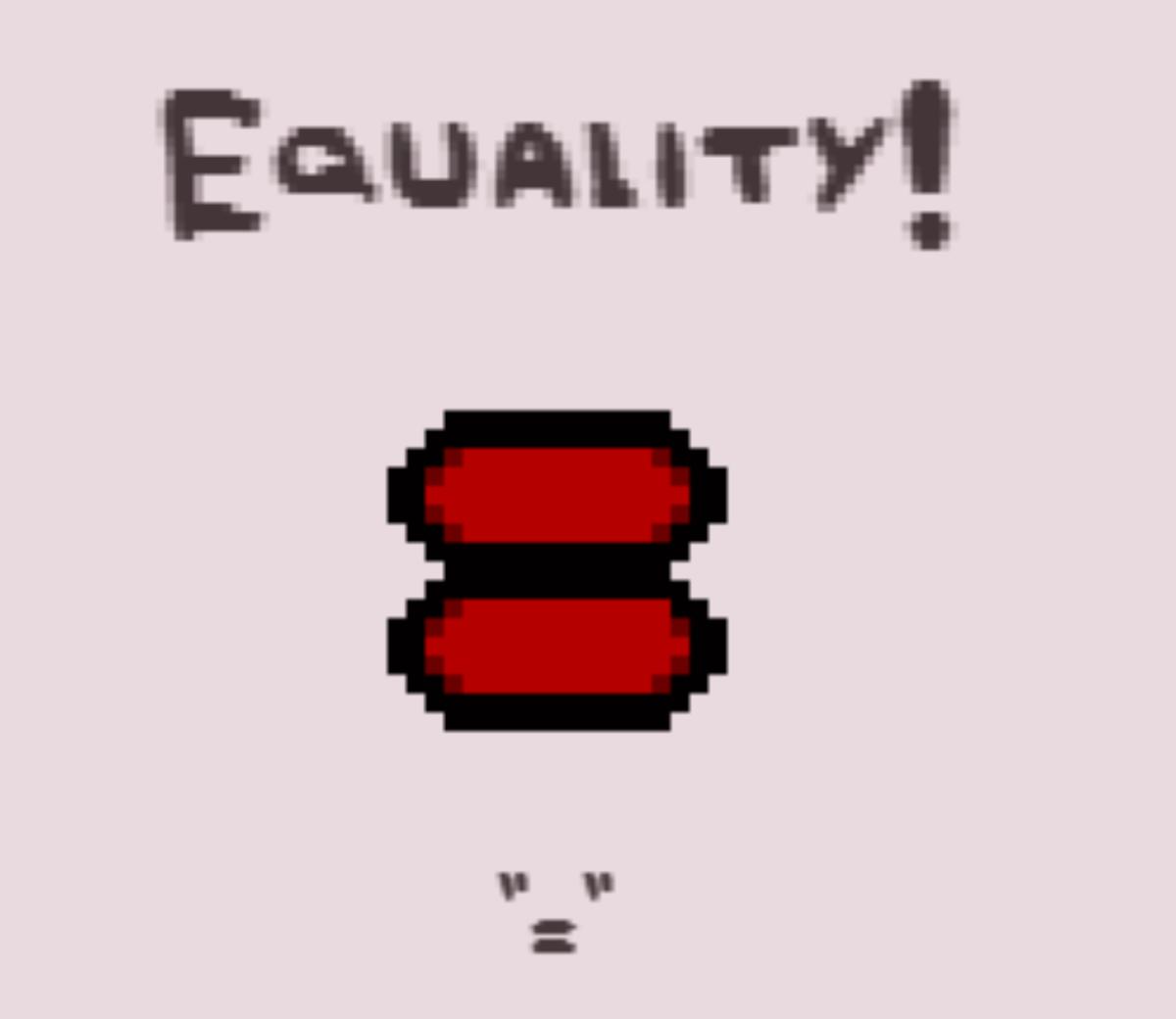 Equality!