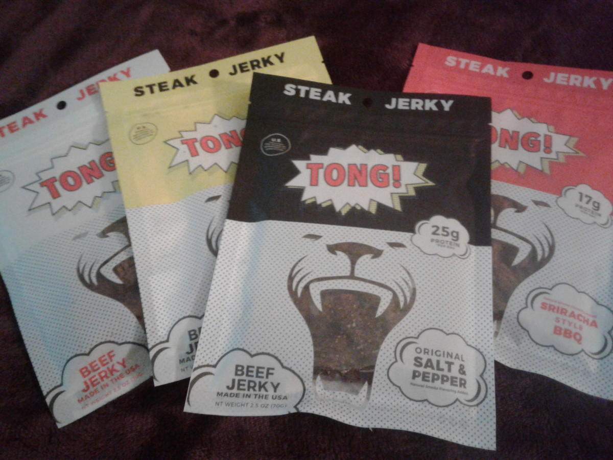 A Review of Tong Steak Jerky