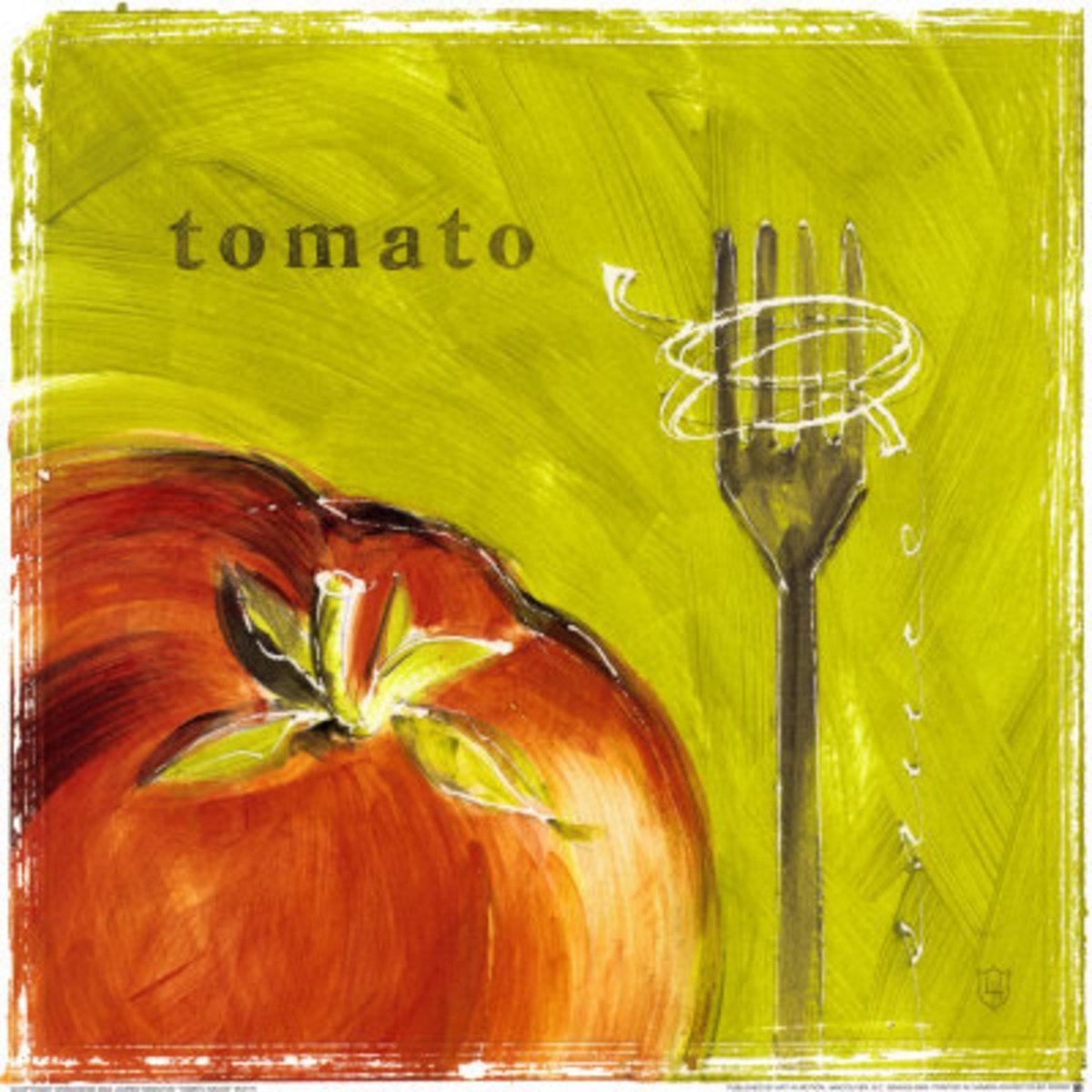 Lauren Hamilton Tomato Sauce Art Print