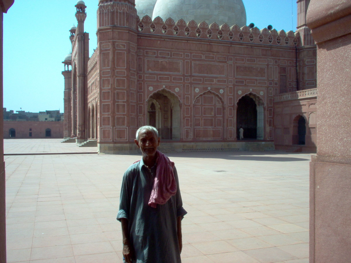 Shamin, my guide on my first visit to the Mosque