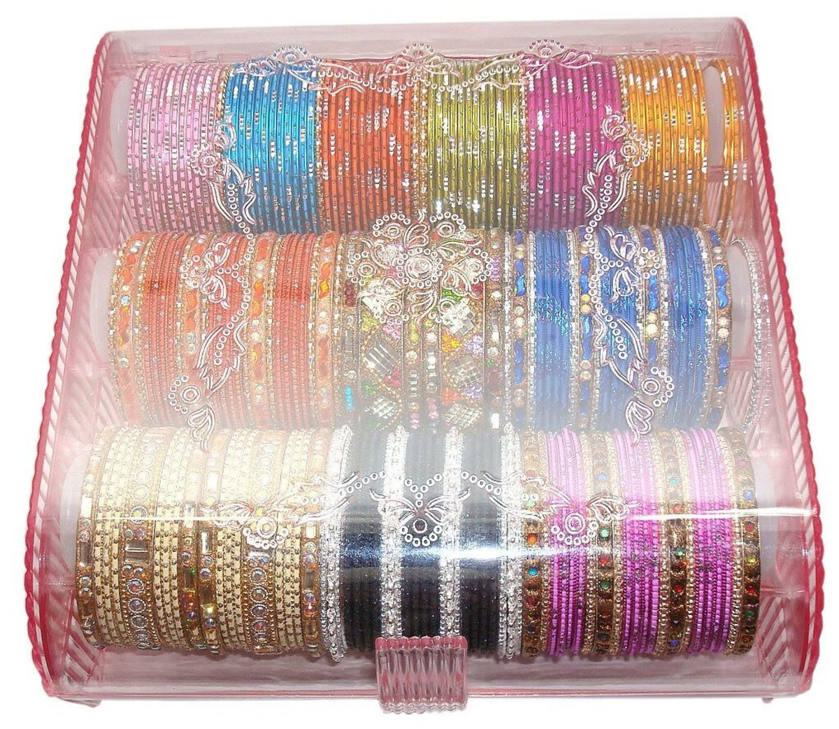 Idea#3: Storing bangles in a bangles organizer