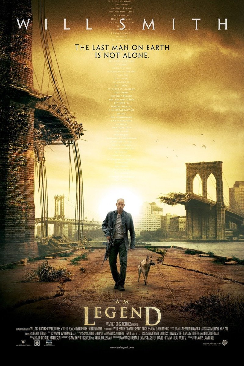 12 Post-Apocalyptic Movies Like I Am Legend You Must Watch