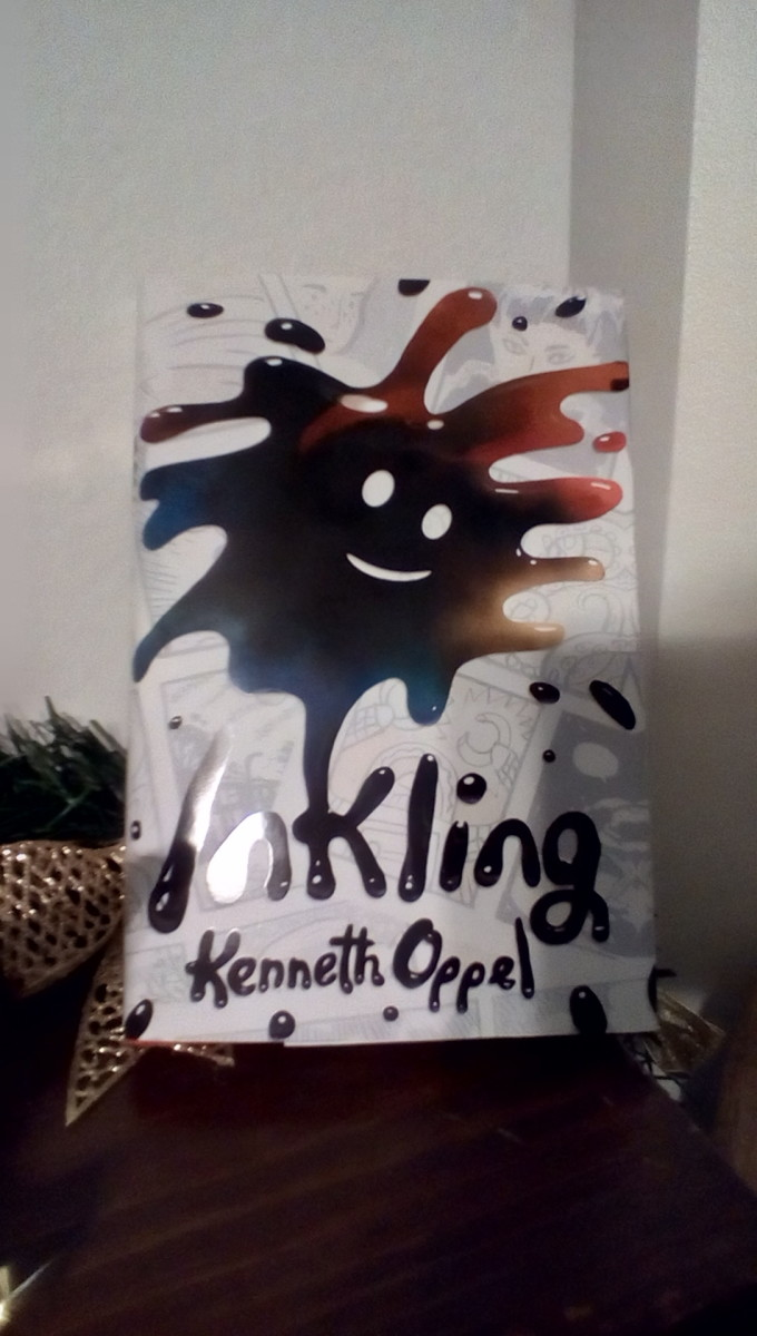 Family, Friendship, and an Inkblot That Comes to Life in This Creative Story from Popular Author Kenneth Oppel