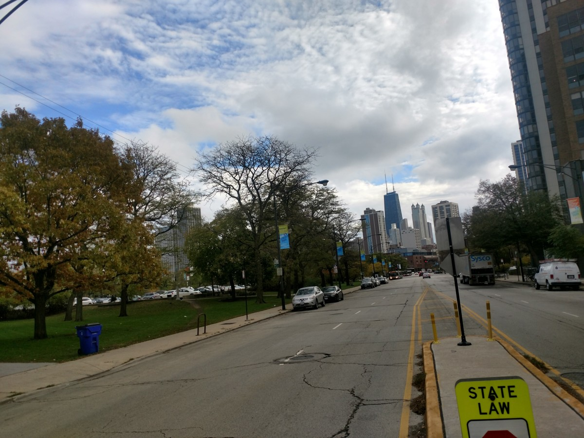 View from Clark Street.