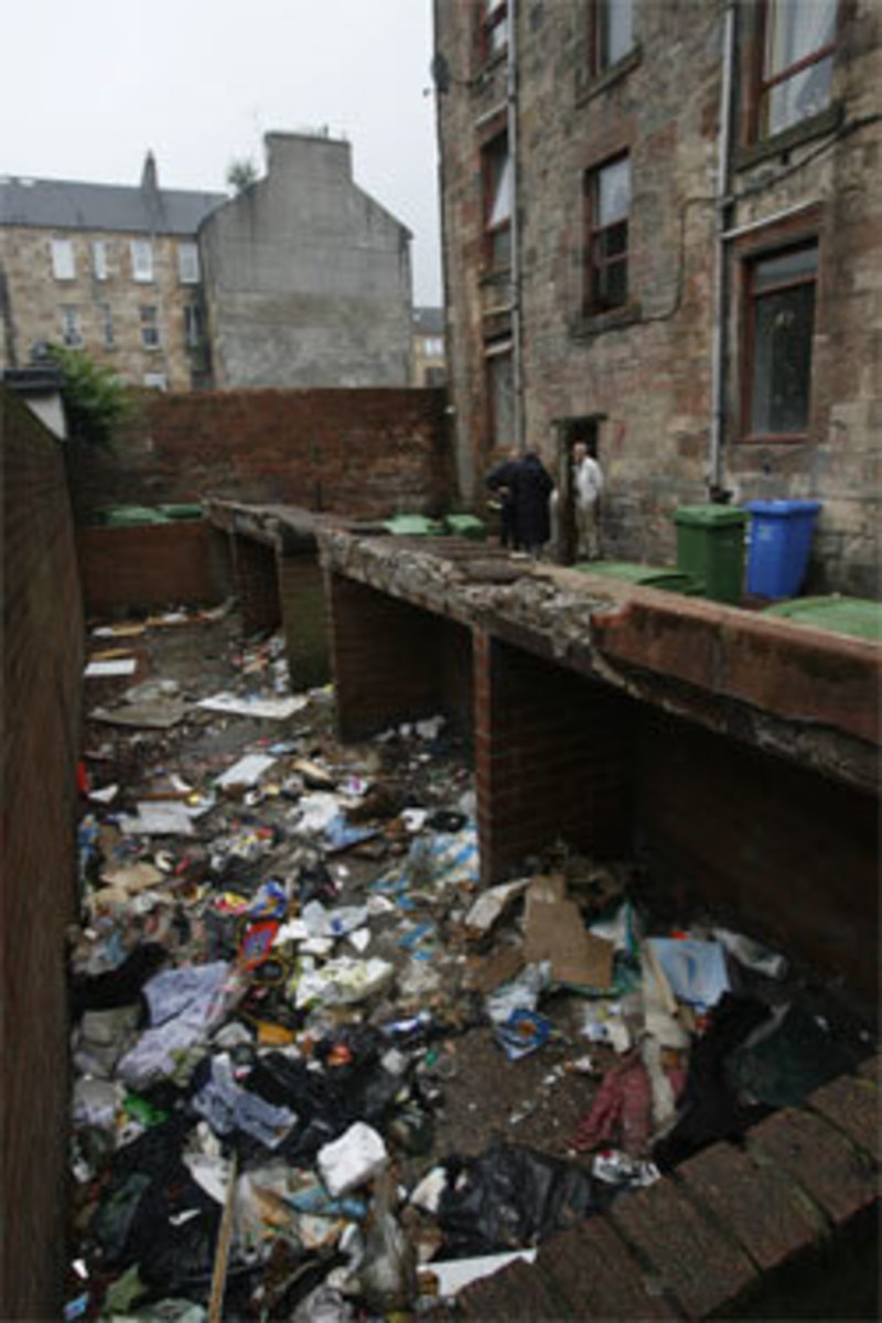 Govanhill's is a breeding ground for exploitation,crime, poor health and education and cockroaches in Scotland .