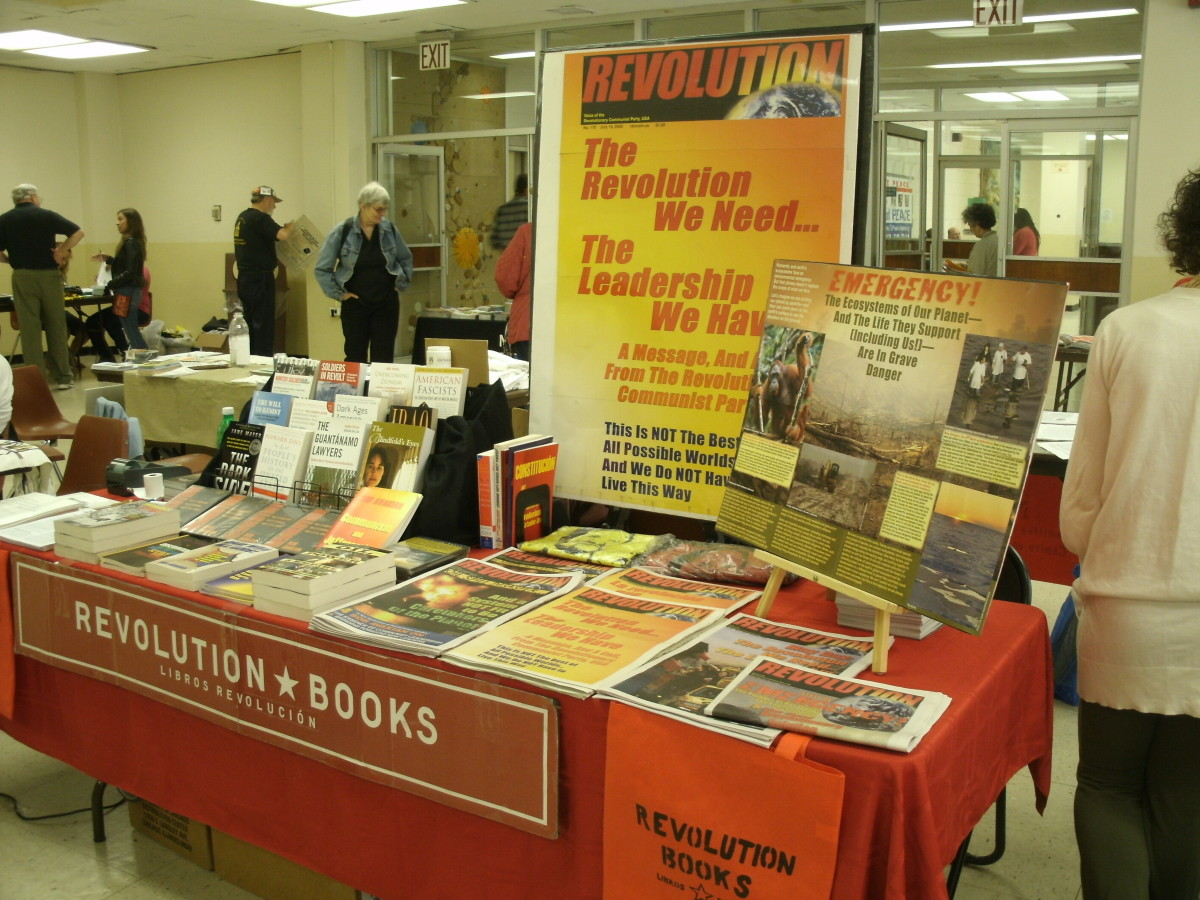The REVOLUTION BOOKS table