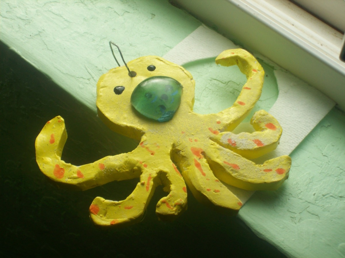 What kid doesn't enjoy an octopus?